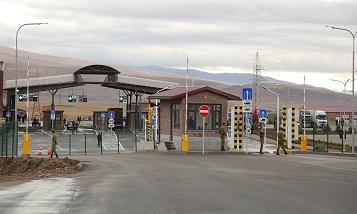 На границе Грузии с Арменией заработал обновленный ТПП