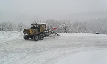 На некоторых автомобильных дорогах республики снег и туман