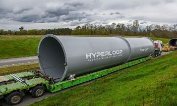 В Гамбурге построят Hyperloop для перевозки морских грузовых контейнеров