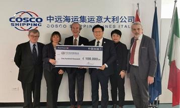 Партнеры COSCO Shipping поддержали Китай в борьбе с коронавирусом