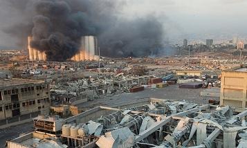 В порту Бейрута взорвалось более 2700 тонн аммиачной селитры