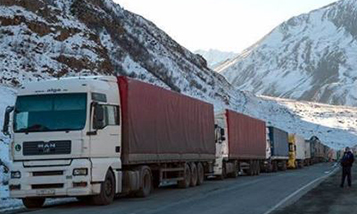 11 truck drivers stayed in the neutral zone between Georgia and the Russian Federation