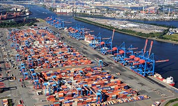 Ports in Asia, Europe and North America impose restrictions to avoid traffic jams