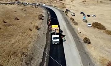 The repair of the Armenia-Iran road continues
